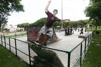 Depois de mais de uma semana de luta para concluir a reforma da pista de skate da Praça Afonso Botelho em Curitiba, a ação dos skatistas ganha destaque em algumas mídias do estado do Parana como esta feita pelo Parana Online.