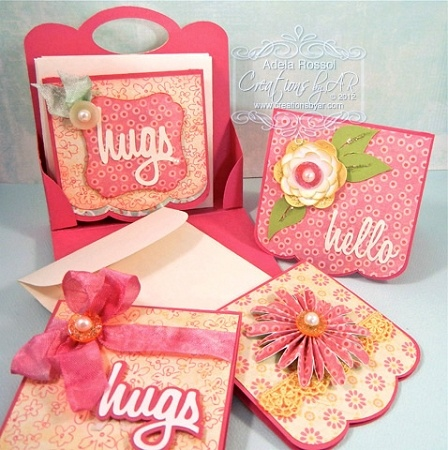 Creations by AR, this site is great! Lots of templates for all occasions, cards, bags, boxes, gift tags, and more. Just add your creativity!