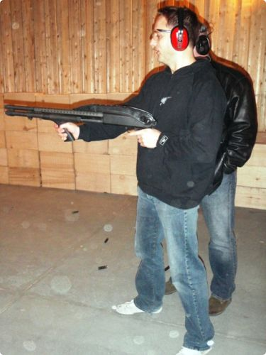 Automatic gun #tallinnstag #stag #shooting