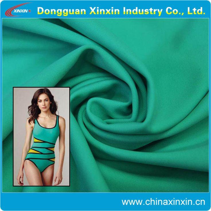 High quality polyester and nylon spandex Lycra fabric Lycra