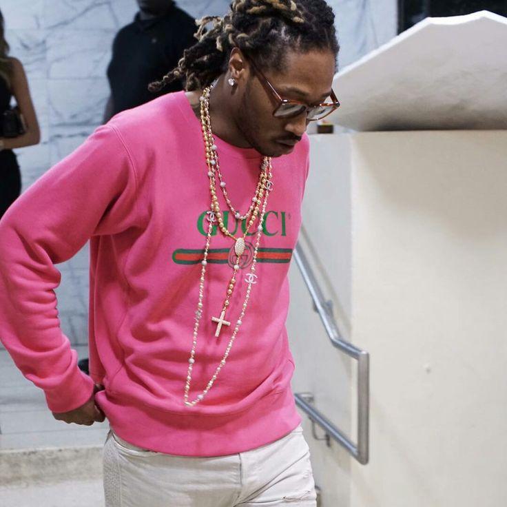Future on Gucci