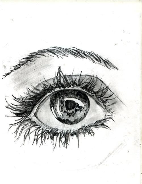 Exceptionnel Oltre 25 idee di tendenza per Disegni di occhi su Pinterest  BQ24