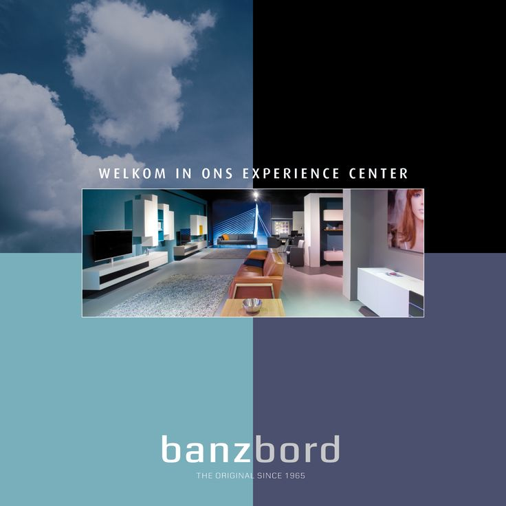 Route map to experience center Banz Bord, wall units