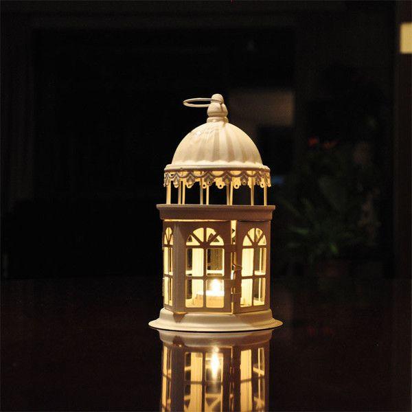 В европейском стиле из кованого железа канделябры свеча фонарь фонарь украшения старинные свадебные реквизит украшения дома подарок на день рождения - Тайвань Taobao, Taobao Вседержитель