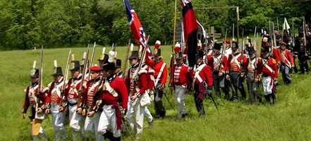 The Battle of Stoney Creek: an annual War of 1812 re-enactment in Hamilton.  June 2 - 3, there will be events all weekend long! For other events going on in Ontario: http://www.summerfunguide.ca/04/festivals-events-shows.html #summer #fun #ontario #1812 #bicentennial #reenactment