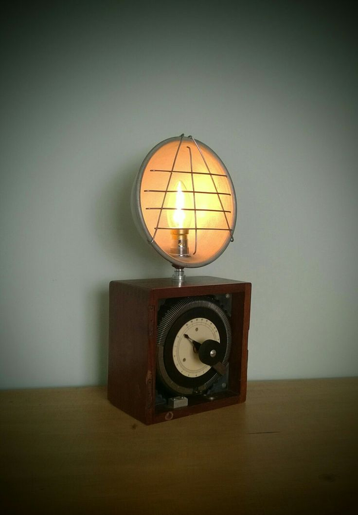 1780 best recycled lights images on pinterest lights Homemade Lamp Ideas Desk Lamps From Junk