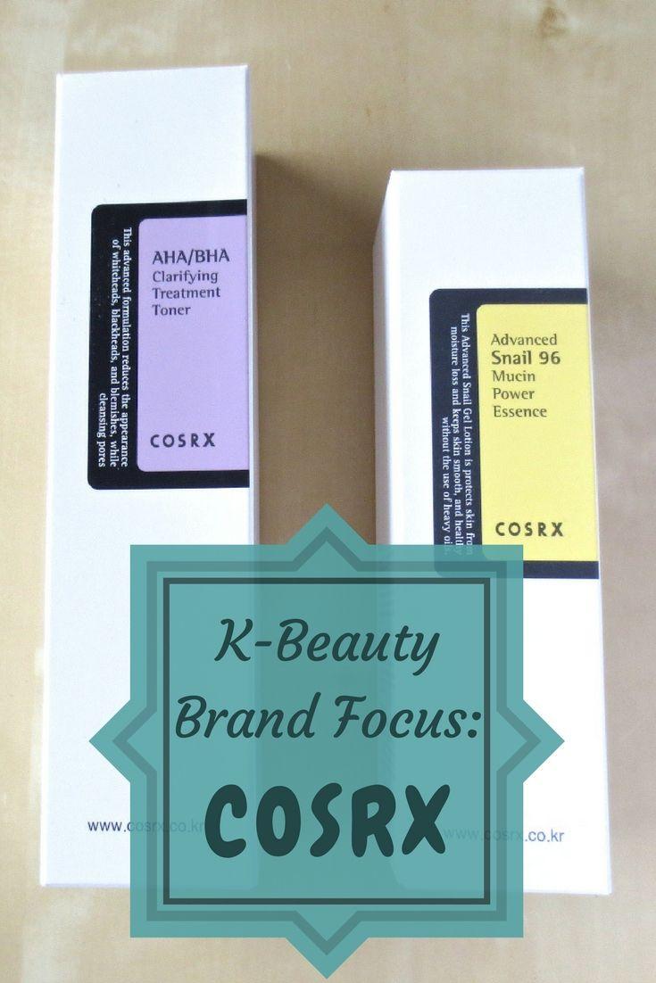 Alles über Cosrx, die koreanische Kosmetik Trendmarke mit Kultstatus!