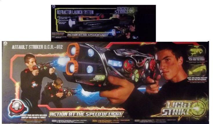 WowWee Light Strike Assault Striker D.C.R. 012 & Refractor Launch System #WowWee