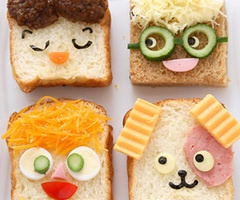 Sandwich cartoons