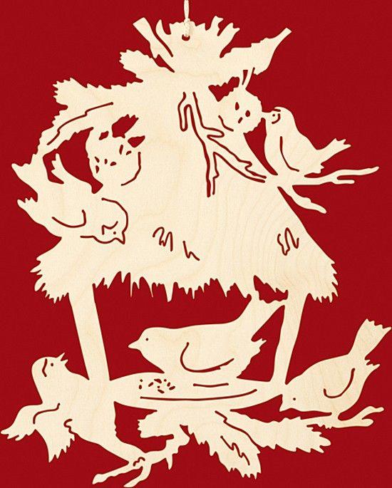 Taulin Fensterbild Weihnachten Vogelfütterung                                                                                                                                                                                 Mehr