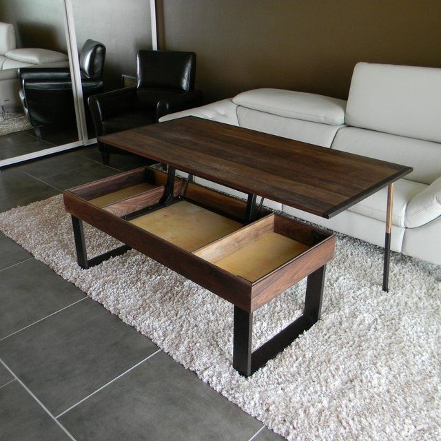 Lift Top Coffee Tables Ikea: Lift -Top, Pop-Up Coffee Table