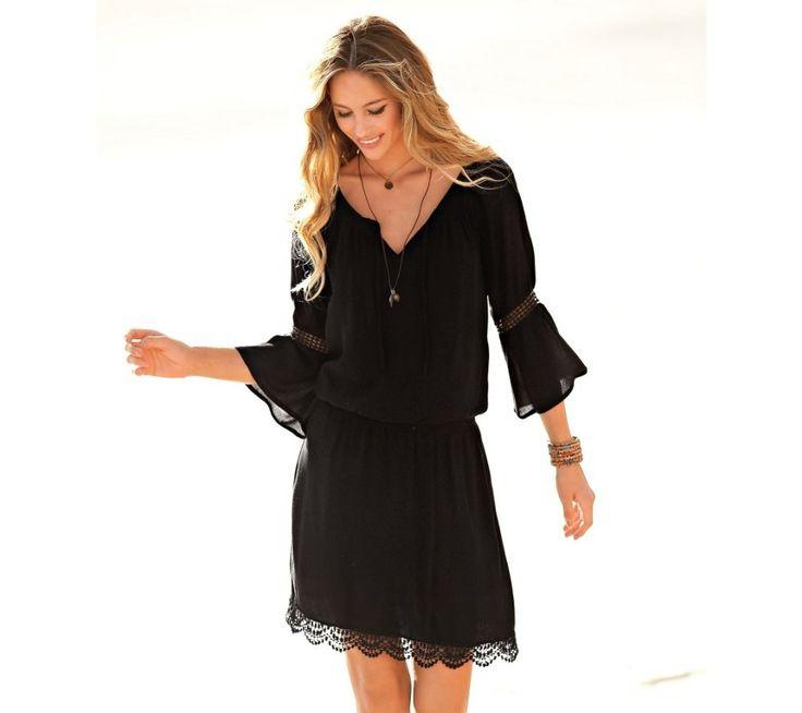 Macramé šaty | blancheporte.sk #blancheporte #blancheporteSK #blancheporte_sk #dress #saty