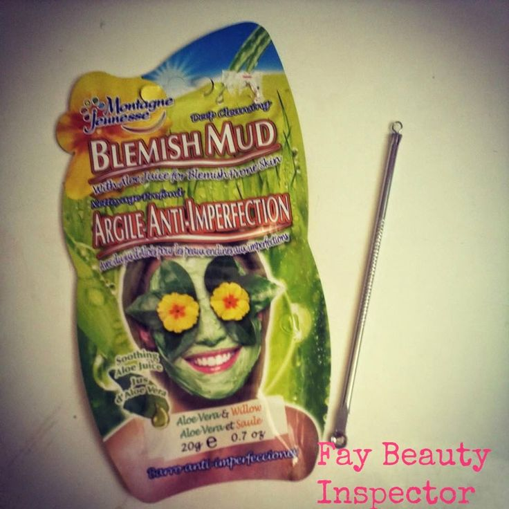 Fay Beauty Inspector : Montagne Jeunesse Blemish Mud Face Mask