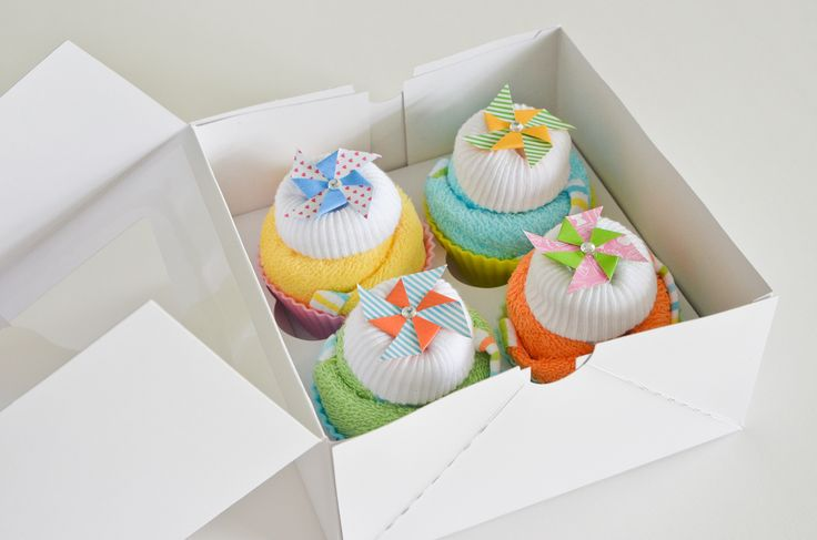 Project Nursery - Baby Washcloth Cupcakes Baby Shower Gift