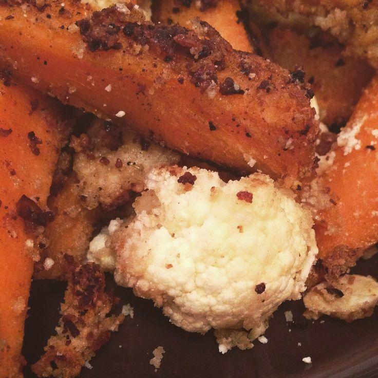 Sweet potato and cauliflower goiujons https://vegemealia.wordpress.com/2016/08/01/voujons-veggie-goujons/