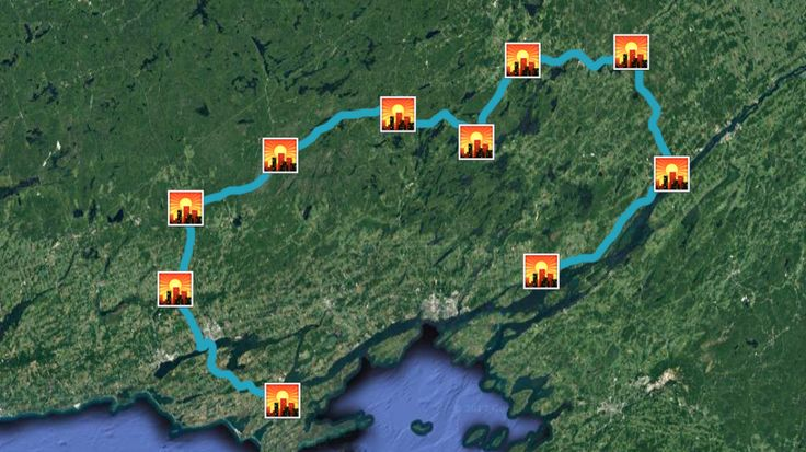 This Map Will Take You On A Road Trip Through Southeastern Ontario's Prettiest Towns