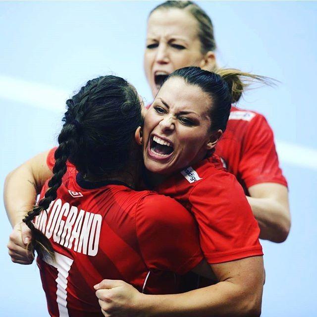 Another Powerhouse With Speed Nora Mørk  #handball #handballplayer #handballplayers #handballteam #handballspiel #handballgirl #kristinamullekristiansen #nathaliehagman #noramørk #estavanapolman
