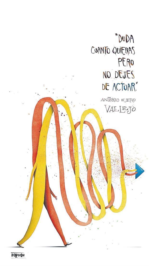 Ilustrado: Pablo Bernasconi - (Antonio Buero Vallejo)