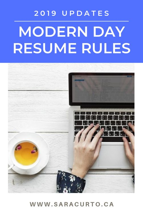 is your resume old fashioned  update it according to these