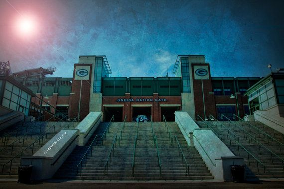Oneida Nation Gate Entrance - Lambeau Field.