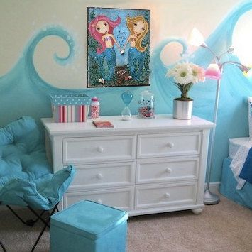 226 best images about Mermaid Bedroom on Pinterest