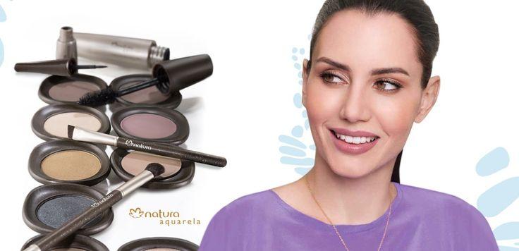 Productos de maquillaje Natura Aquarela