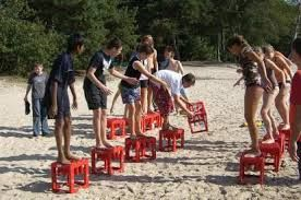 Afbeeldingsresultaat voor zeskamp strand