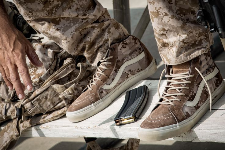 VANS DEFCON AOR 1 | BAD ASS TACTICAL JUNKIES | Shoes, Army ...
