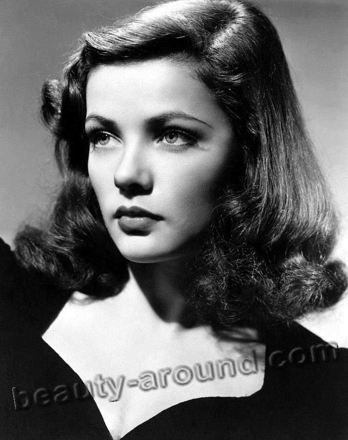old Hollywood actresses photos, Gene Tierney photo, american actress