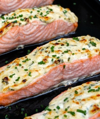 Parmesan Crusted Salmon....made this tonight, now one of my all time favorites!