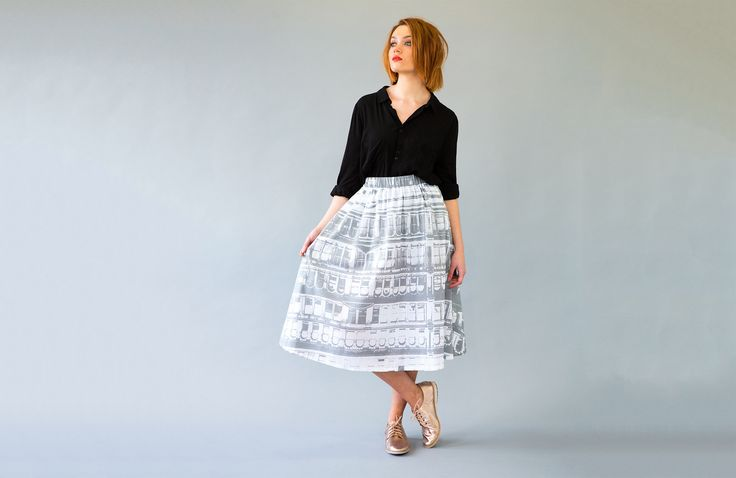 Leap Skirt : Bank