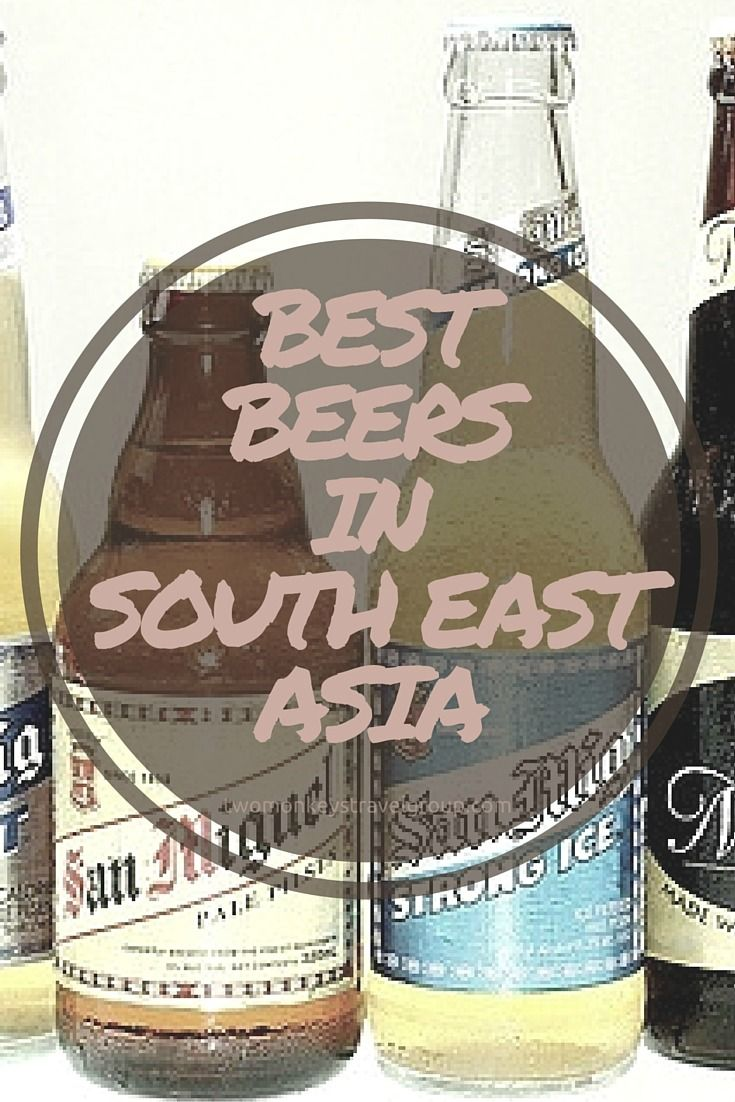 "BEST BEERS IN SOUTHEAST ASIA. What is the best part about the Asian heat? Downing a good beer to combat it, of course! And for the purposes of research, we tried the beers listed here at least once (or maybe seven times?) while in #SouthEastAsia. You may call it alcoholism, but we prefer ""acquiring useful cultural knowledge"" by learning the history of these pilsners. #BestBeers #TwoMonkeysTravelGroup"