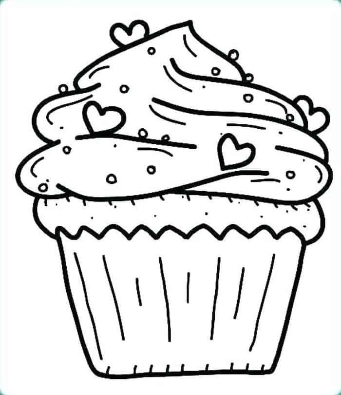 Hello Kitty Cupcake Coloring Pages Cupcake Coloring Pages Hello Kitty Cupcakes Birthday Coloring Pages