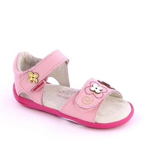 Sandale bebelusi Leana Pink - pediped