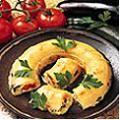 Flan aux légumes et fromage blanc
