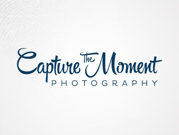 Capture The Moment Photography Logo Design