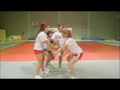 Cheerleading; How to do a full up - YouTube