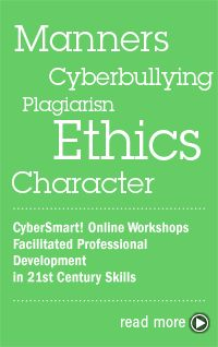 CyberSmart! is pleased to announce the release of our Digital Citizenship Package to teachers and other educators concerned with preparing students for learning, work, and life in the 21st century. This suite of lessons for Kindergarten through high school actively engages students in exploring their personal, social, legal, and ethical responsibilities in today's digital society.