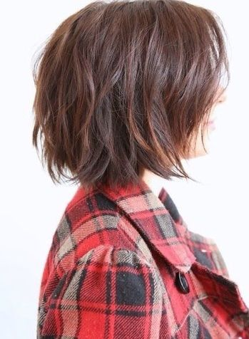 Look great- without trying! We love this simple and messy look, perfect for medium length hair!