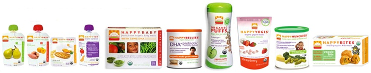 """Happy Family - """"a complete line for the best organic nutrition"""""""