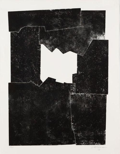 Eduardo Chillida Sakon. 1968. Lithograph