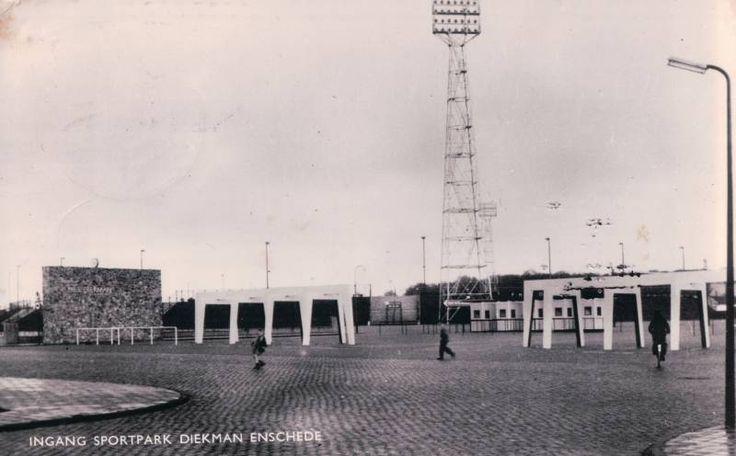 Ingang sportpark Diekman (oud)