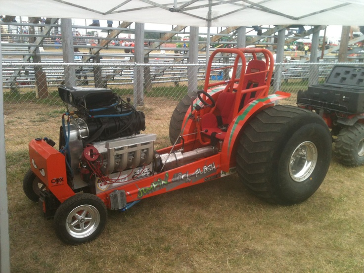 Tractor Puller Clutches : Images about garden tractor pulling eck out all