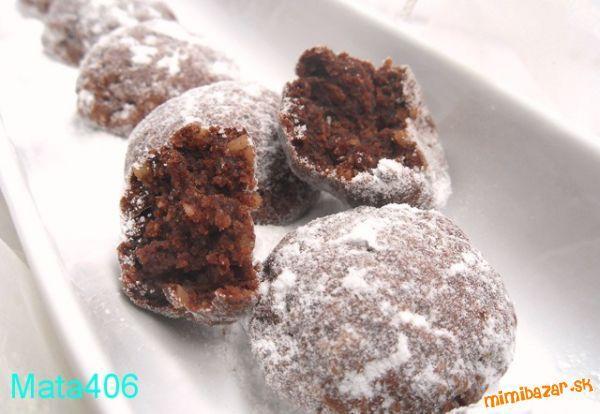 Tvarohovo čokoládové cookies