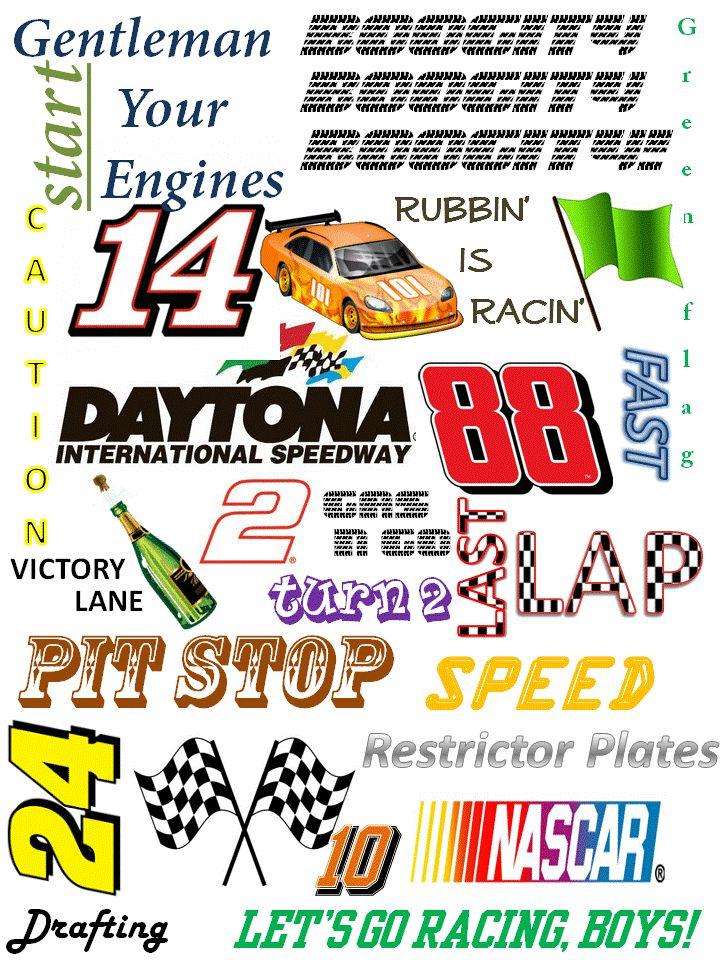 Daytona 500 Subway Art