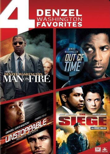 Man on Fire/Out of Time/Unstoppable/Seige [4 Discs] [DVD]