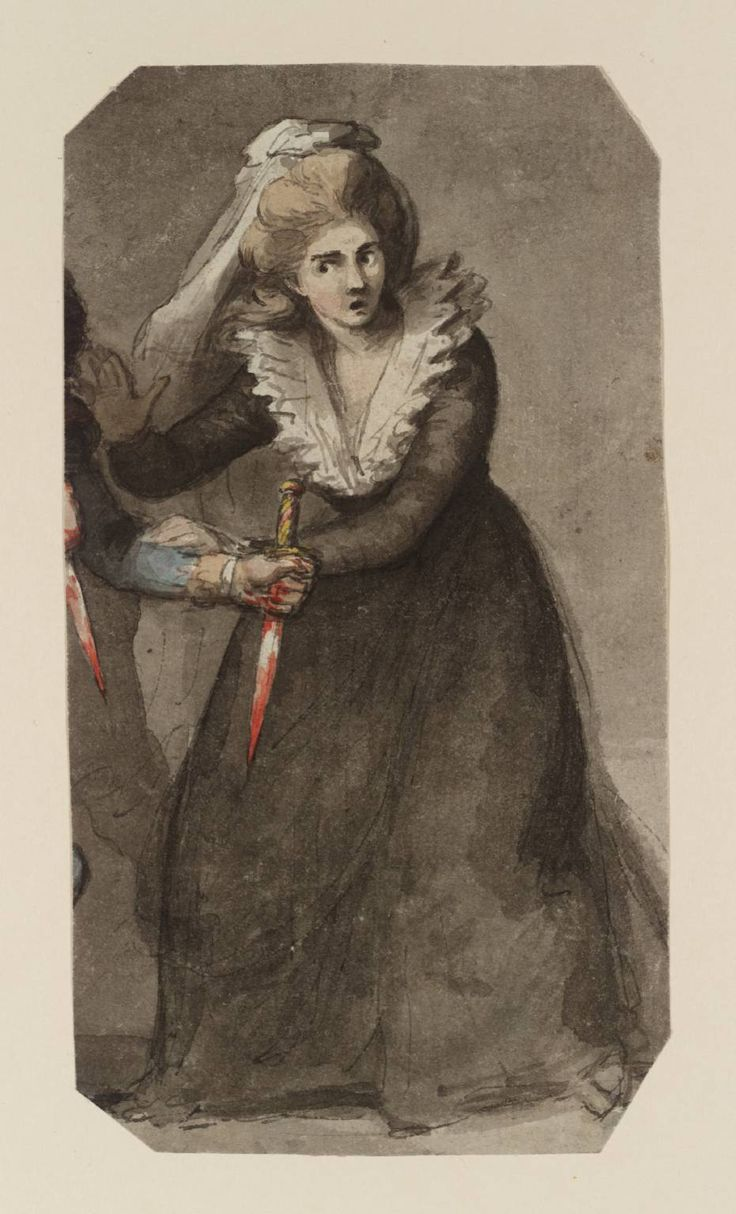 Graham Ovenden naked Lady Macbeth Taking the Daggers, Sir Nathaniel Dance-Holland (Tate Museum:  tate