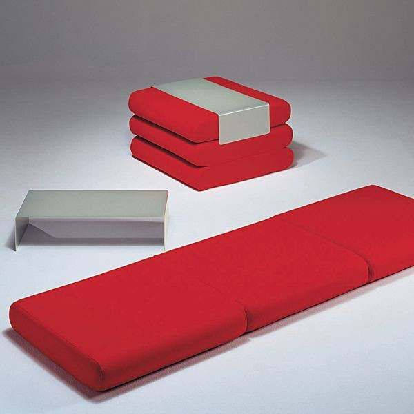 BINGO : ottomansk, ekstra seng og sidebord: Allsidig og smart! deco og design, SOFTLINE