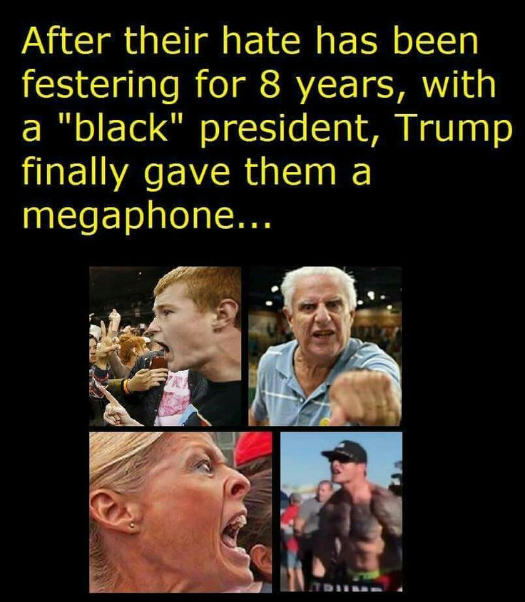 """The video that goes along with the faces are sad to say the least. So much racially charged hatred.... or maybe it's fear... really they're one in the same .... and your president gave them the """"courage"""""""
