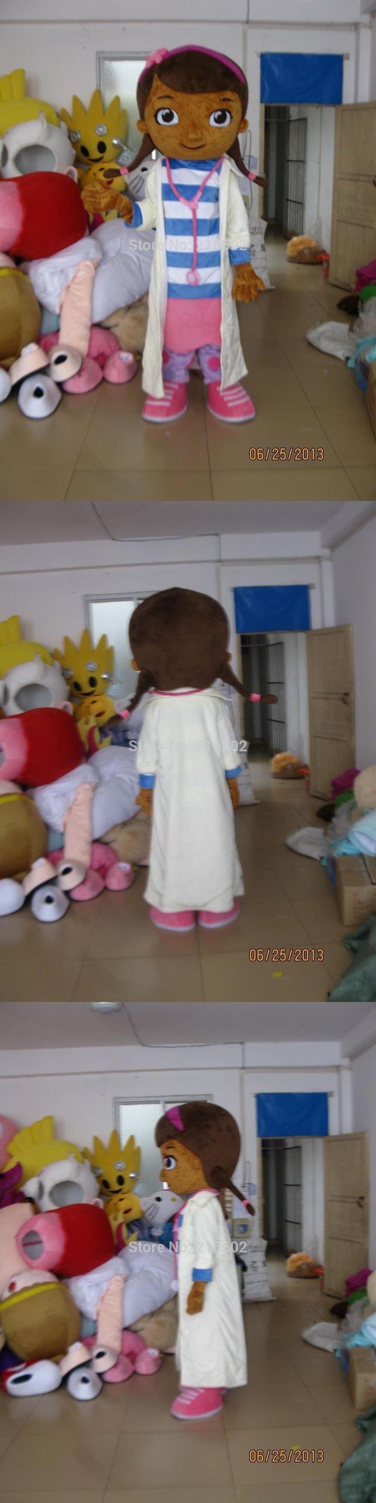 Doc McStuffins mascot costume McStuffins adult size mascot costume Doc McStuffins mascot costume